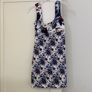 2019 DVF Floral Mini Dress